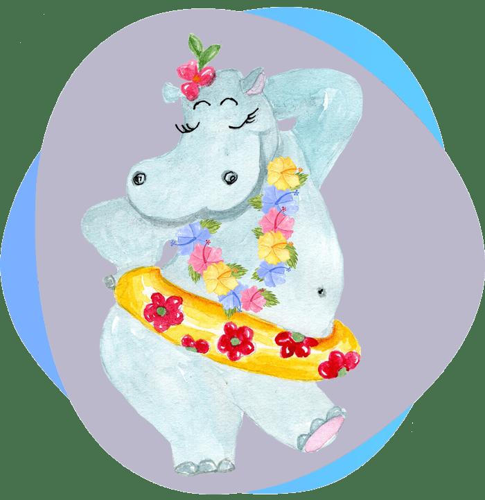 Nem sablonos hippo